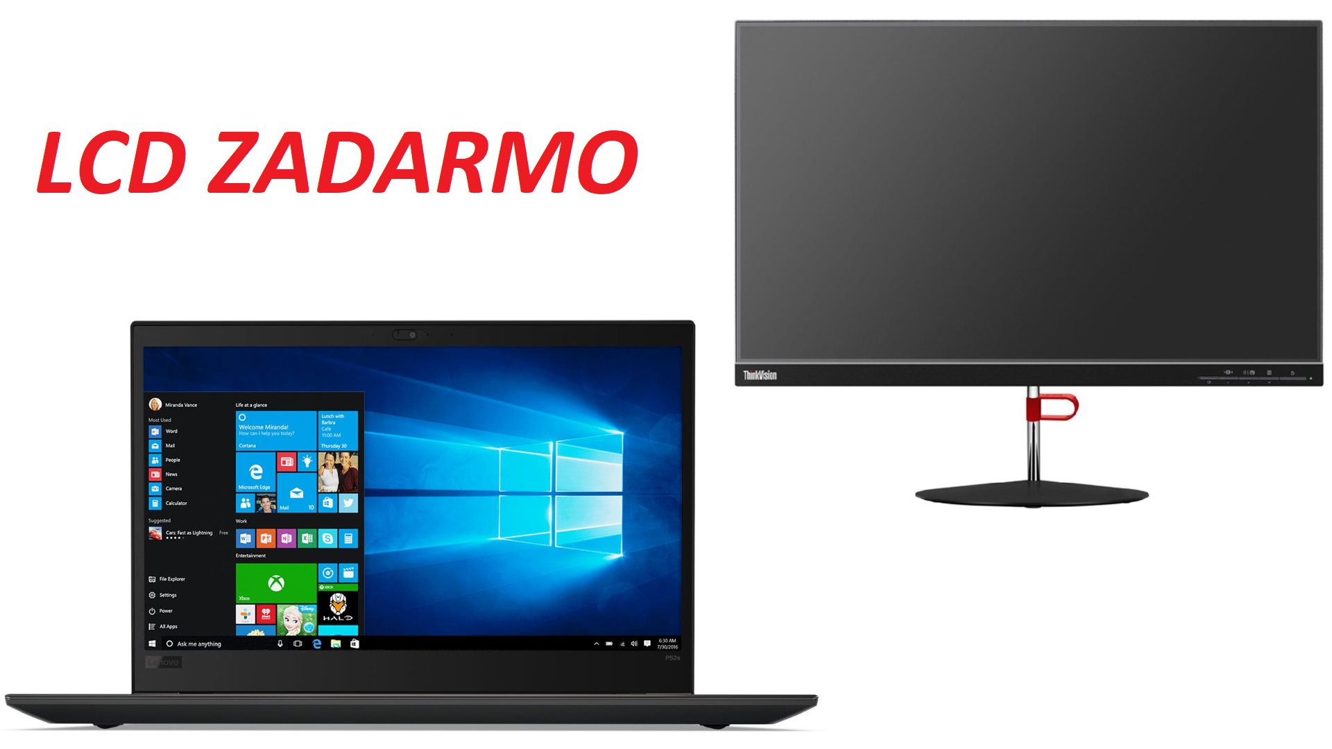 TS P320 TWR/E3-1225v6/8G/1TB/INT/DVD/W10P+LCD ZADARMO