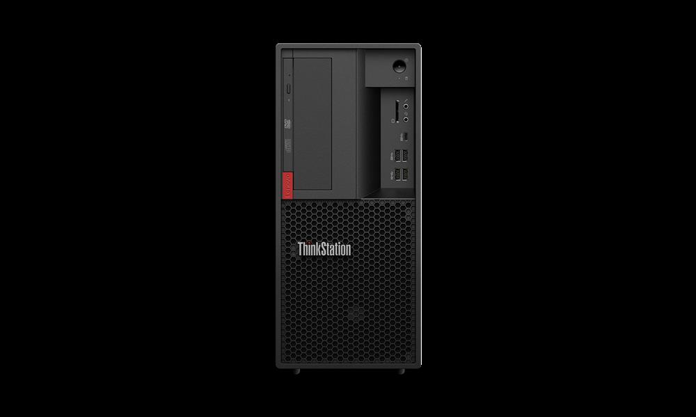 Lenovo ThinkStation TS P330 TWR/i7-9700/2x8G/256+1T/DVD/W10P + Sleva 50€ na bundle s monitorem!