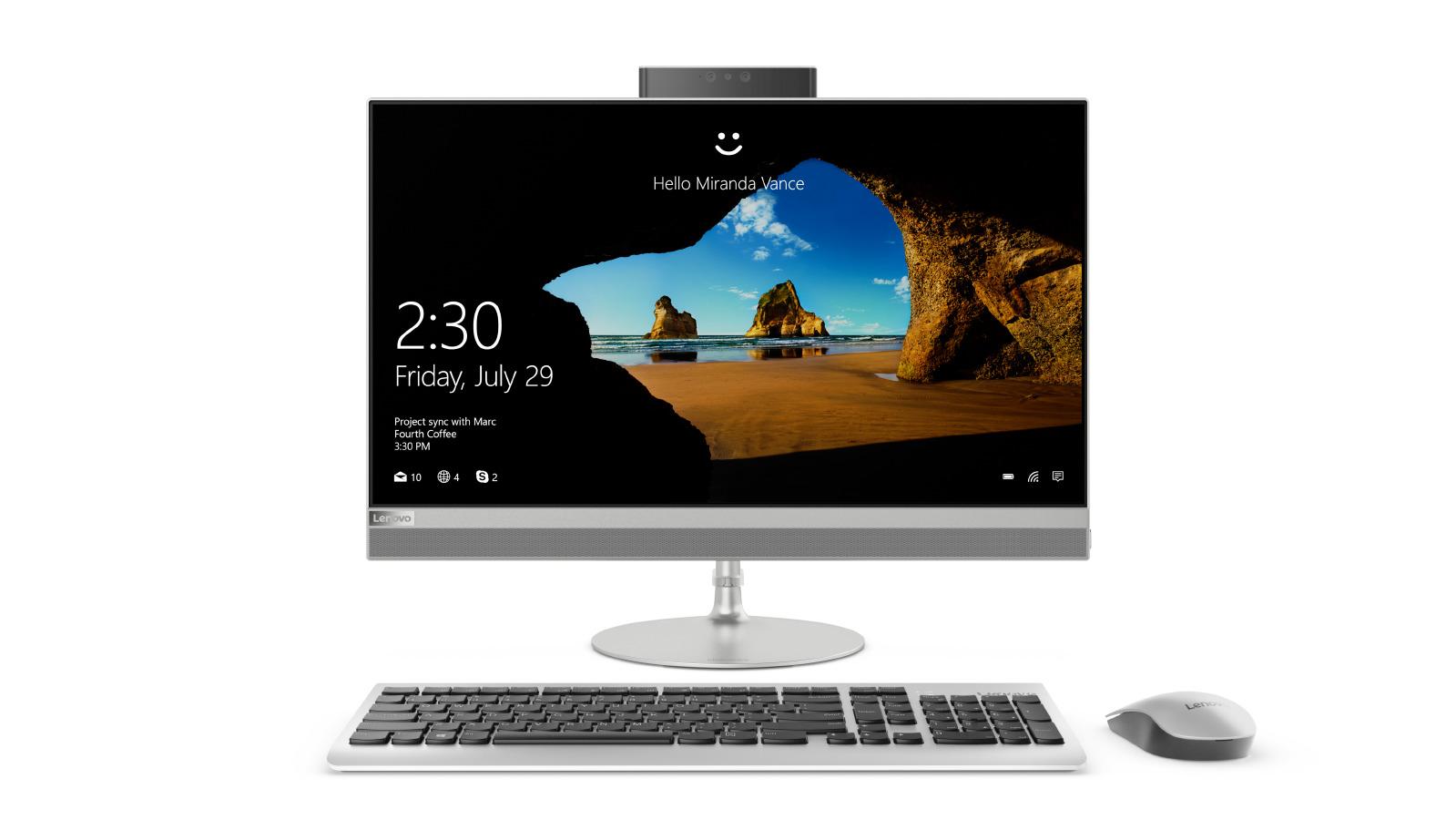 Lenovo AIO 520 23.8''FHD/i5-8400T/12G/1TB/AMD2G/W10