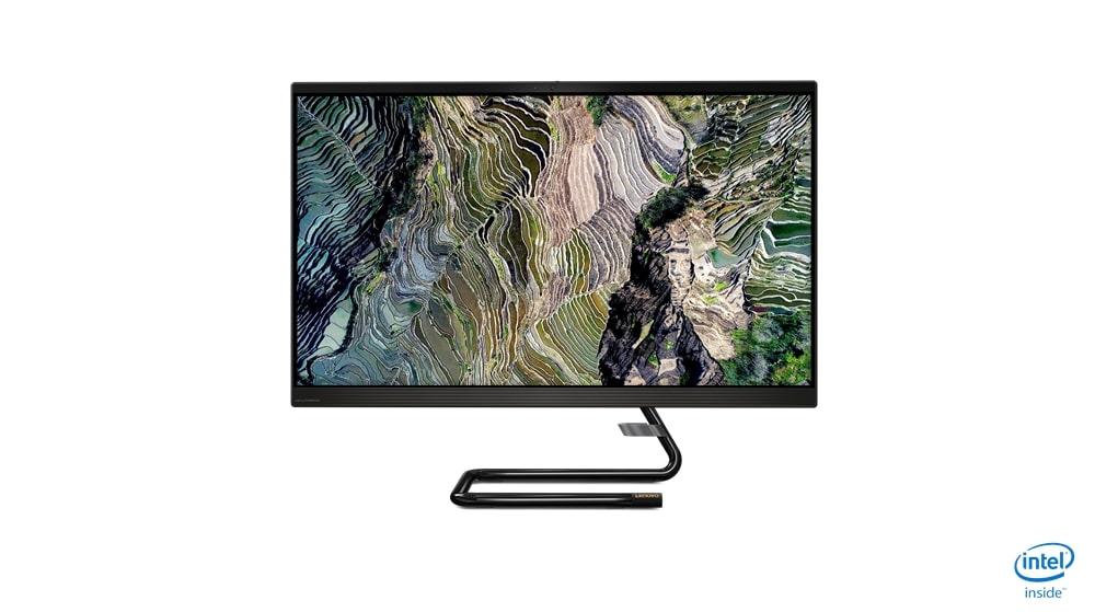 Lenovo AIO 3 27FHD/i3-10100T/8G/256/INT/W10H/black