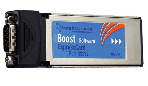 Brainboxes VX-001-001 ExpressCard 1 Port RS232