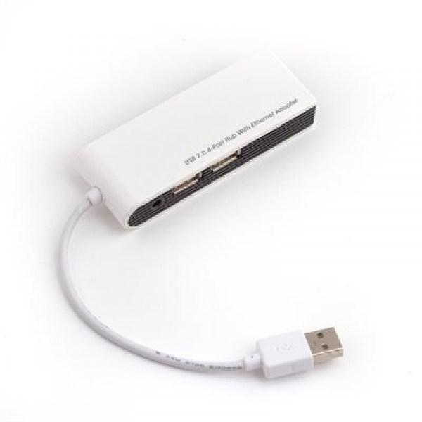 Lenovo 4-port USB hub with LAN port H415