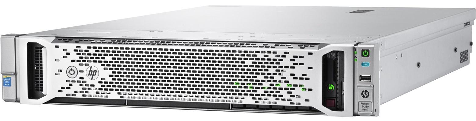 HPE DL180 Gen9 E5-2620v3, 32GB, 4x1TB, P840/4GB