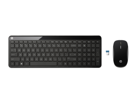 HP C6020 Wireless Desktop - set myš a klávesnice