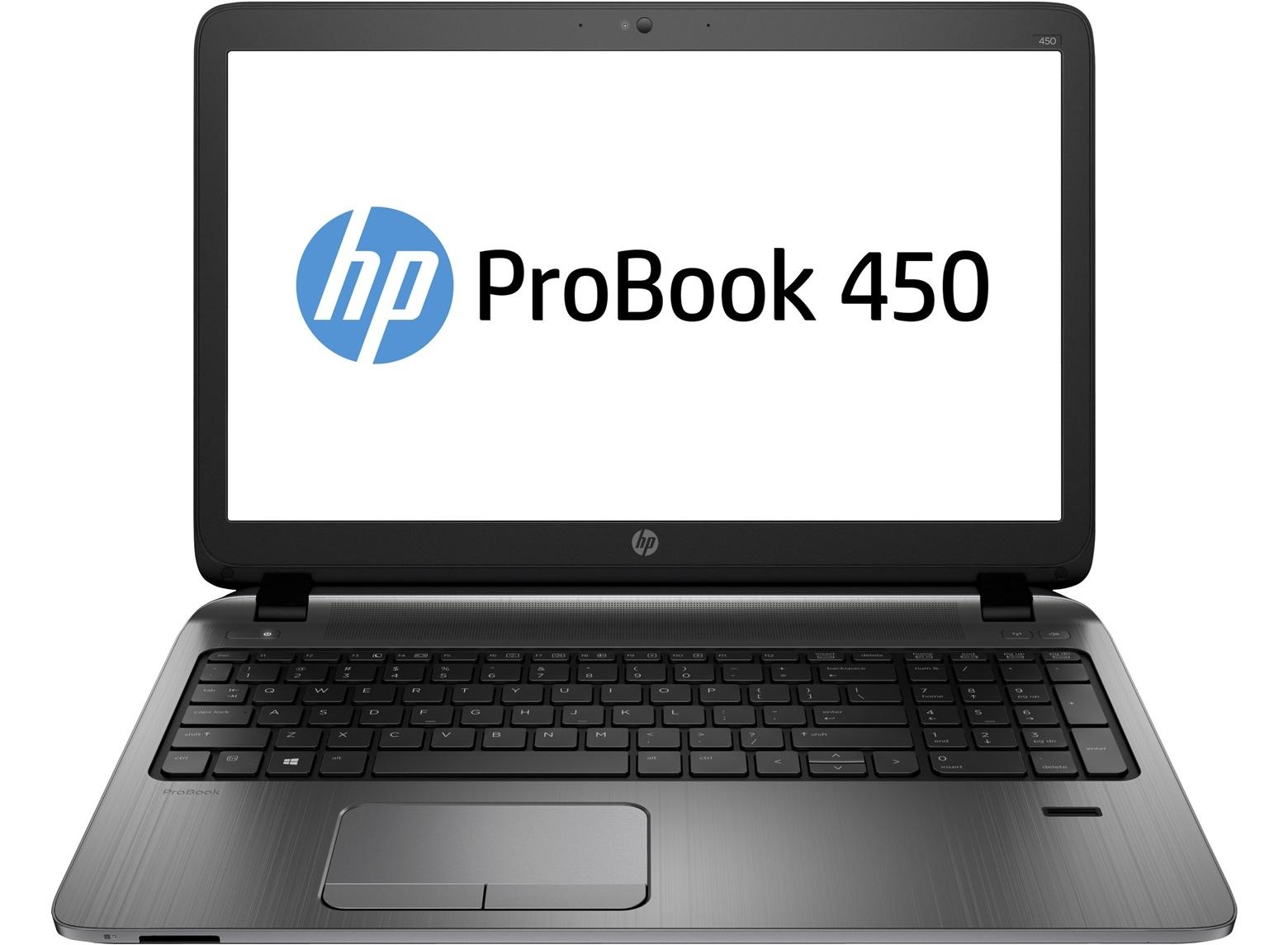 HP ProBook 450 G2 15.6 HD/3205U/4GB/1TB/DVD/VGA/HDMI/RJ45/WIFI/BT/MCR/FPR/1Rservis/W10