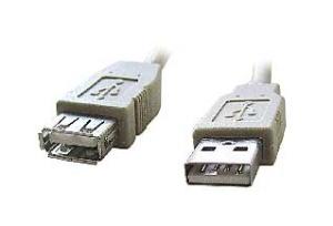 Kabel USB A-A 3m 2.0 prodlužovací