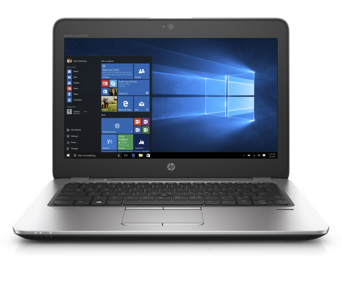 HP EliteBook 820 G3 12.5'' FHD /i5-6200U/4GB/256SSD/WIFI/BT/MCR/FPR/3RServis/7+1