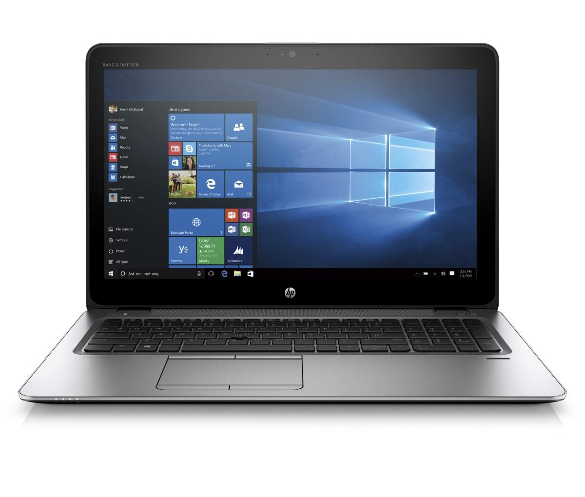 "HP EliteBook 850 G3 15.6"" FHD /i5-6200U/4GB/256SSD/WIFI/BT/MCR/FPR/3RServis/7+10P"