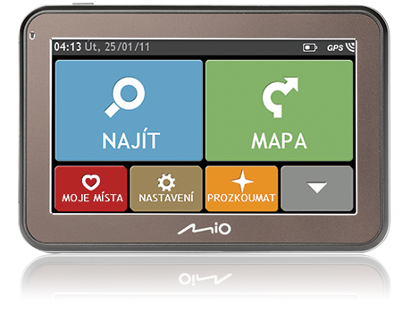 "MIO Spirit 5450 4,3"", mapy EU (44) Lifetime"