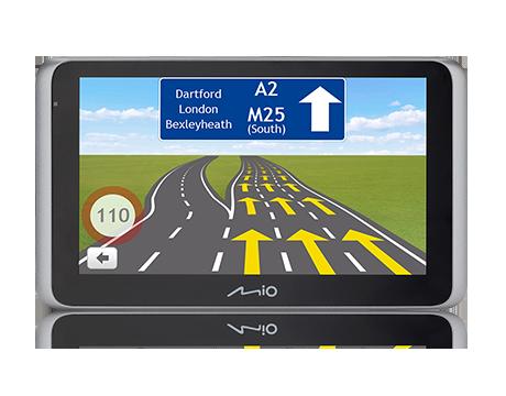 MIO MiVue Drive 65LM, navigace s kamerou, 6,2', mapy EU (44) Lifetime
