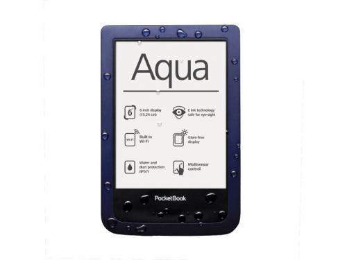 Pocketbook Aqua 640, tmavě modrá