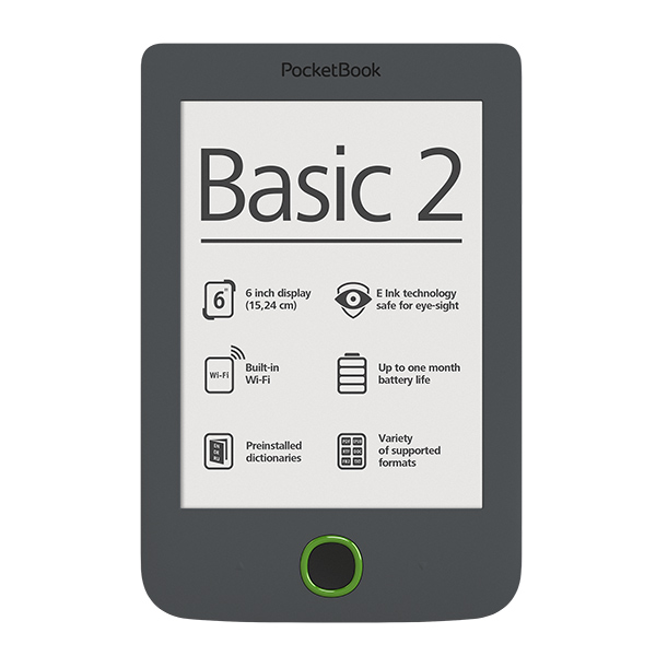 Pocketbook 614 Basic 2, Grey