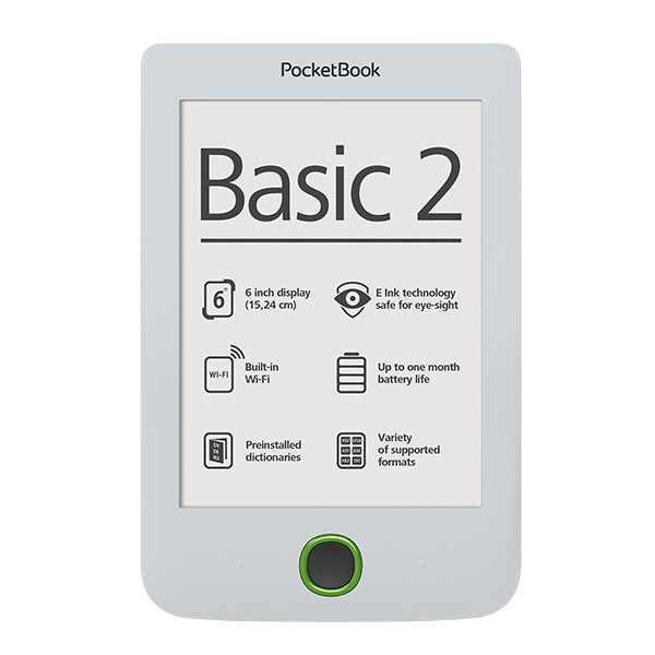 Pocketbook 614 Basic 2, White