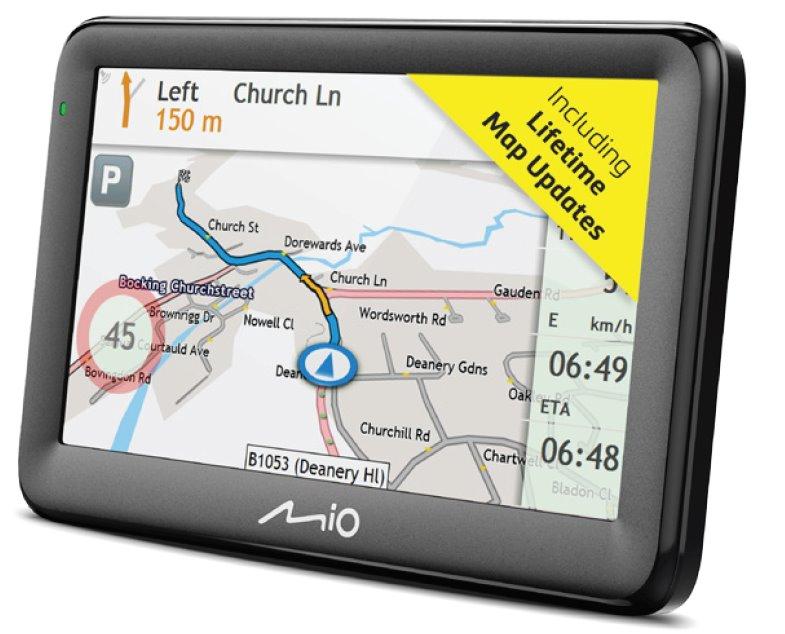 MIO Pilot 15 LM navigace, LCD 5'', mapy EU, Lifetime