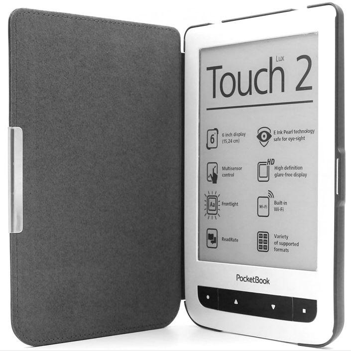 C-TECH pouzdro Pocketbook 614/624/626, HC černé