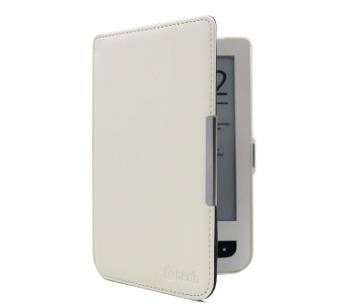 C-TECH pouzdro Pocketbook 614/615/624/626,HC bílá