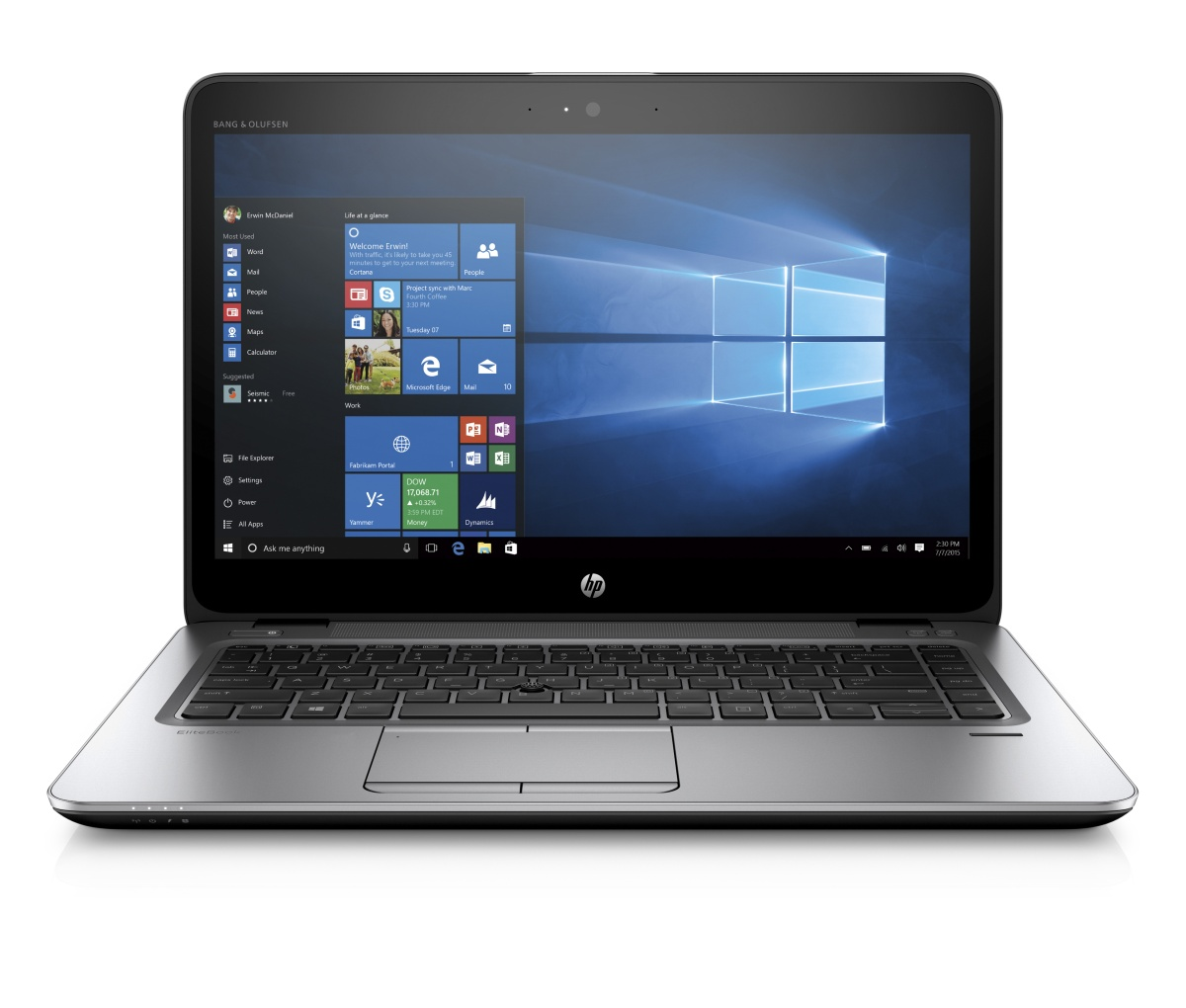 HP EliteBook 840 G3 14'' FHD /i7-6500U/8GB/512SSD/WIFI/BT/4G/MCR/FPR/3RServis/7+